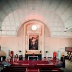 Inside the Church of the Holy Trinity