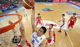 """Gilas Pilipinas and familiar nemesis Iran are groupmates in the second round of basketball competitions in this year's Asian Games in Incheon, Korea. The last time the two countries squared off was during this game at the 2014 FIBA World Cup in Wuhan, China, which Iran ruled unscathed..   But the quadrennial """"Olympics of Asia"""" isn't the two countries' turf. (Photo by FIBA Asia)"""