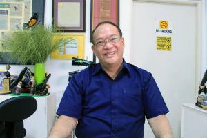 Roberto Castañeda of the Imus Historical Society (photo by Mia Rosienna Mallari)