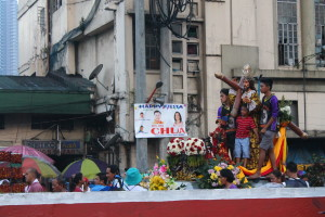 The annual Black Nazareno procession in Manila is one form of popular religiosity that Pope Francis likes as a means to strengthen the faith, says Manila Archbishop Luis Antonio Cardinal Tagle (photo by MIA ROSIENNA MALLARI / The Filipino Connection)