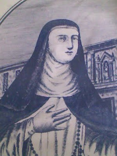 Mo. Francisca del Espiritu Santo, O.P. (Francisca de Fuentes), founder of the Dominican Sisters of St. Catherine of Siena. The current crop of the Dominican congregation is lobbying for Francisca's sainthood (photo from religiouswomen.blogspot.com)