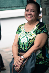 Elizabeth Horca, 71 (photo by EFIGENIO CHRISTOPHER TOLEDO IV / The Filipino Connection)