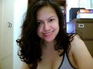 Slain Batanguena journalist Melinda Magsino (photo taken from her Facebook account)