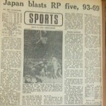 Some 44 years ago, Japan was Asia's dominant basketball team. At the 1971 Asian Basketball Confederation (ABC) Championships in Tokyo, Japan clobbered the Philippines, 93-69. That is a result Filipino fans do not want to happen tonight--at the 2015 FIBA Asia Championships--against the Japanese in the hunt for the lone automatic Asian berth in the 2016 Rio de Janeiro Olympic Games (from the archives of The Manila Bulletin / Bulletin Today, photo by The Filipino Connection)