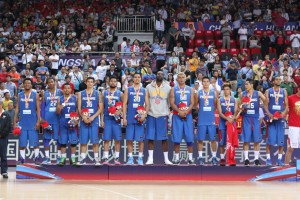 Silver medalists the Philippines (photo from FIBA.com)