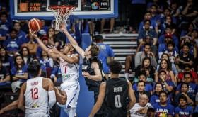 Jayson Castro drives hard to the basket. But his heroics fell short in the philippines' campaign in the FIBA Olympic Qualifying Tournament (photo by FIBA).