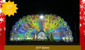 The belen made by Camp Servillano Aquino of the Armed Forced of the Philippines that won a grand prize in this year's Belenismo sa Tarlac (photo by the Facebook page of Belenismo sa Tarlac)