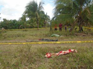 Patuloy ang imbestigasyon ng pulisya para matukoy ang suspek na bumaril sa lalaking ito sa Barangay Tangob, Lipa City. (Lipa PNP)