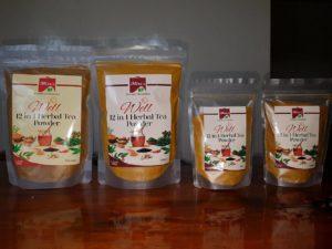 Ang ilan sa mga produkto ng Mira's Turmeric Product (kuha ni Arvel Malubag / The Filipino Connection)