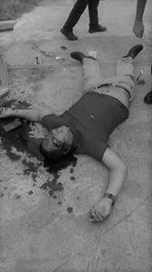 Agad binawian ng buhay ang bisor na si Dante Briones sa panibagong insidente ng pamamaril sa Sto. Tomas noong ika-17 ng Enero. (photo courtesy of Sto. Tomas PNP)